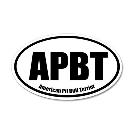 APBT Oval Euro Sticker