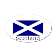 """Scotland"" 35x21 Oval Wall Peel"