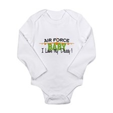 Air Force Baby Long Sleeve Infant Bodysuit