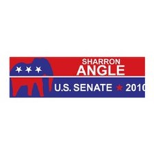 Sharron Angle 36x11 Wall Peel