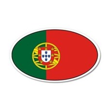 Portuguese Stickers 35x21 Oval Wall Peel