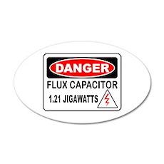 Danger FC 35x21 Oval Wall Peel