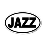 JAZZ Euro 20x12 Oval Wall Peel