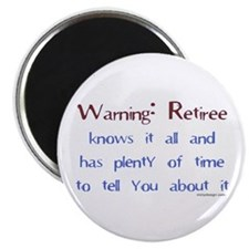 Warning: Retiree.. Magnet