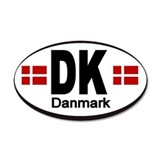 Denmark Automobile Identification Sticker