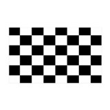 Checkered Flag 35x21 Wall Peel