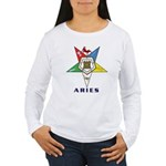 OES Aries Sign Women's Long Sleeve T-Shirt