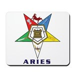 OES Aries Sign Mousepad