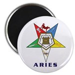 OES Aries Sign Magnet