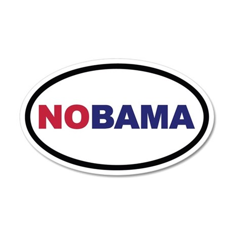 NOBAMA Euro 35x21 Oval Wall Peel