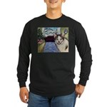 Xmas Portrait Dante Long Sleeve Dark T-Shirt