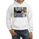 Xmas Portrait Dante Hooded Sweatshirt