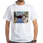 Xmas Portrait Dante White T-Shirt