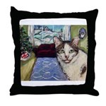 Xmas Portrait Dante Throw Pillow