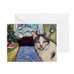 Xmas Portrait Dante Greeting Cards (Pk of 20)