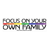 FOCUS ON YOUR OWN FAMILY 36x11 Wall Peel