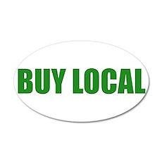 Buy Local 20x12 Oval Wall Peel