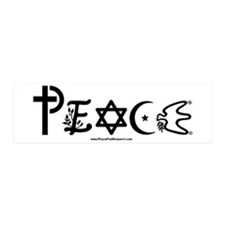 Peace 20x6 Wall Peel