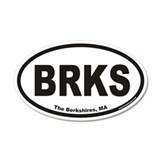 The Berkshires BRKS Euro 35x21 Oval Wall Peel