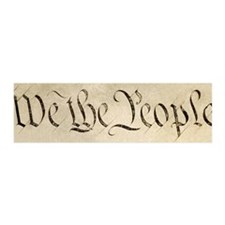 """We the People"" 36x11 Wall Peel"