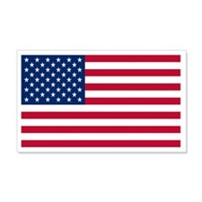 United States Flag Sticker 20x12 Wall Peel