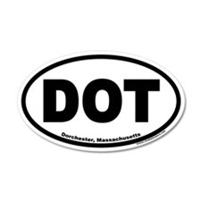 Dorchester, MA DOT Euro 20x12 Oval Wall Peel