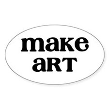 Make Art Bumper Stickers