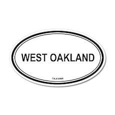 West Oakland oval 20x12 Oval Wall Peel