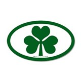 Shamrock Euros 35x21 Oval Wall Peel
