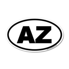 Arizona AZ Euro 35x21 Oval Wall Peel