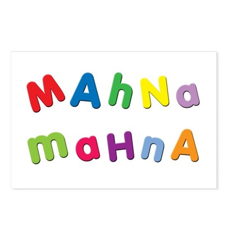 Mahna Mahna Postcards (Package of 8)
