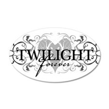 Twilight Forever 20x12 Oval Wall Peel