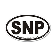 Shenandoah National Park SNP Euro Wall Decal