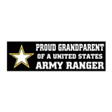 PROUD GRANDPARENT - ARMY RANGER 20x6 Wall Peel