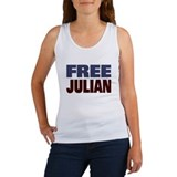 Free Julian Assange Women's Tank Top