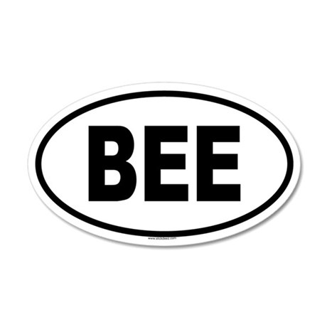 BEE 20x12 Oval Wall Peel