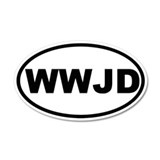 What Would Jesus Do (WWJD) Sticker