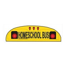 Homeschool Bus 2 20x6 Wall Peel
