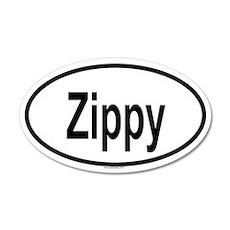 ZIPPY 20x12 Oval Wall Peel