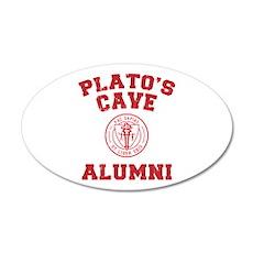 Plato 20x12 Oval Wall Peel