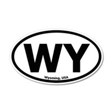 Wyoming 20x12 Oval Wall Peel