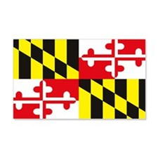Maryland Flag 20x12 Wall Peel