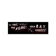 Bat Country - 36x11 Wall Peel