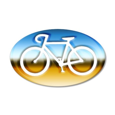 CYCLING 35x21 Oval Wall Peel