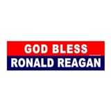 20x6 Wall Peel:God Bless Ronald Reagan