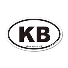 Kure Beach KB Euro 35x21 Oval Wall Peel