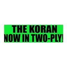 The Koran - Now in two-ply 36x11 Wall Peel