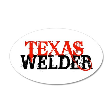 Texas Welder 35x21 Oval Wall Peel