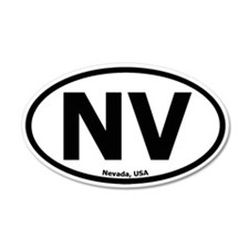 Nevada 20x12 Oval Wall Peel