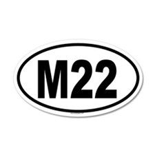 M22 35x21 Oval Wall Peel